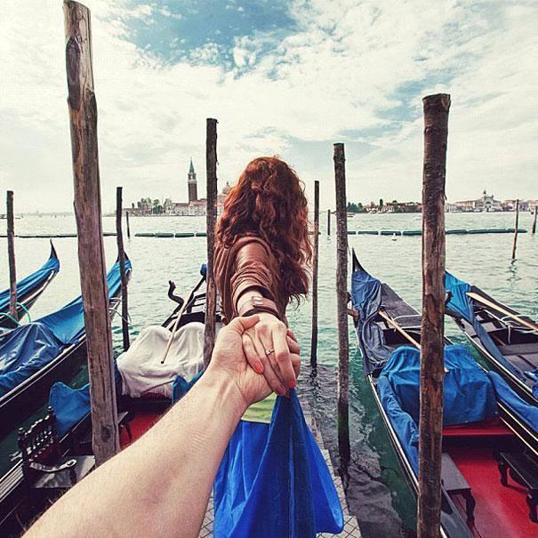 Photographer Follows His Girlfriend Around The World6