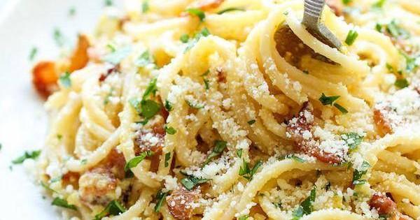 Spaghetti Carbonara, mmm