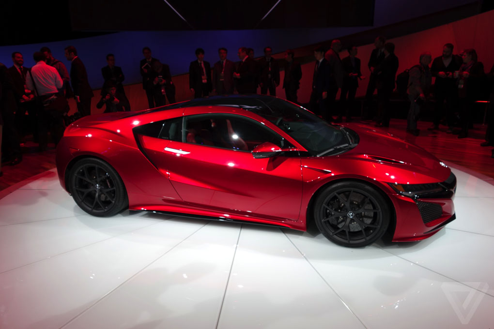 The new Acura NSX is finally here
