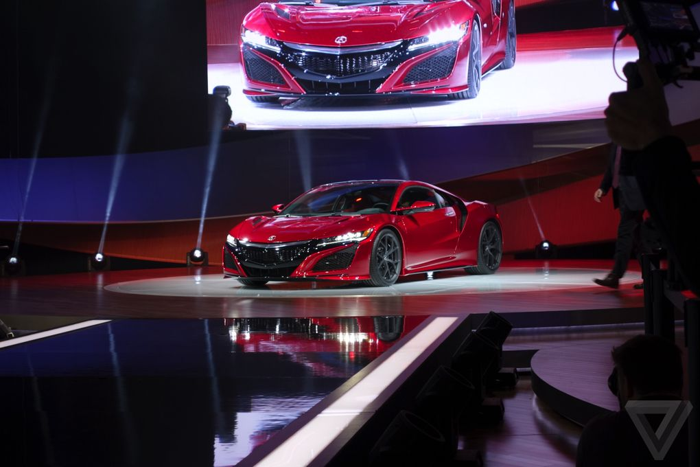 The new Acura NSX is finally here0