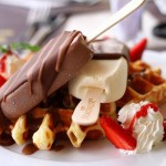 Waffles And Ice Cream, mmm