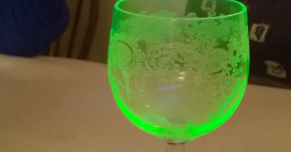 """""""My Grandparents Own A Set Of Glassware From 1911 That Is Made With Uranium. When Exposed To UV Light, It Glows Green"""""""
