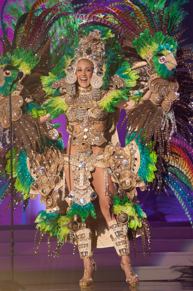 nicaragua Miss Universe Unveiled This Year's Costumes