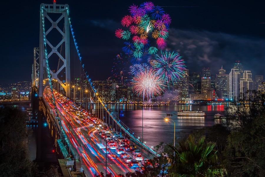 san francisko fireworks 2015