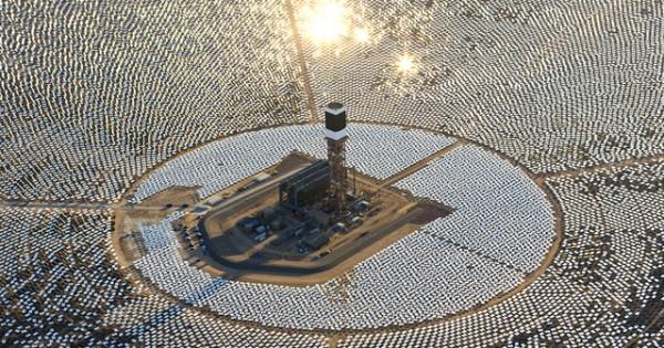 The World's Largest Solar Plant, California