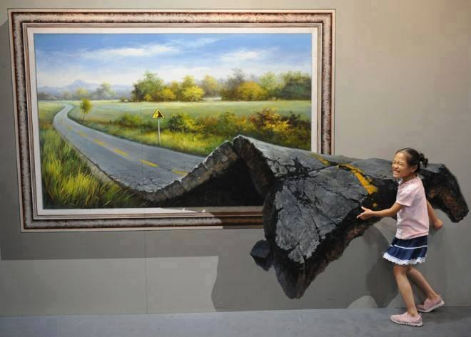 3D Interactive Paintings