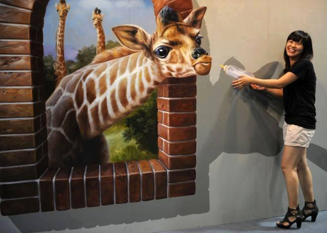 3D Interactive Paintings3