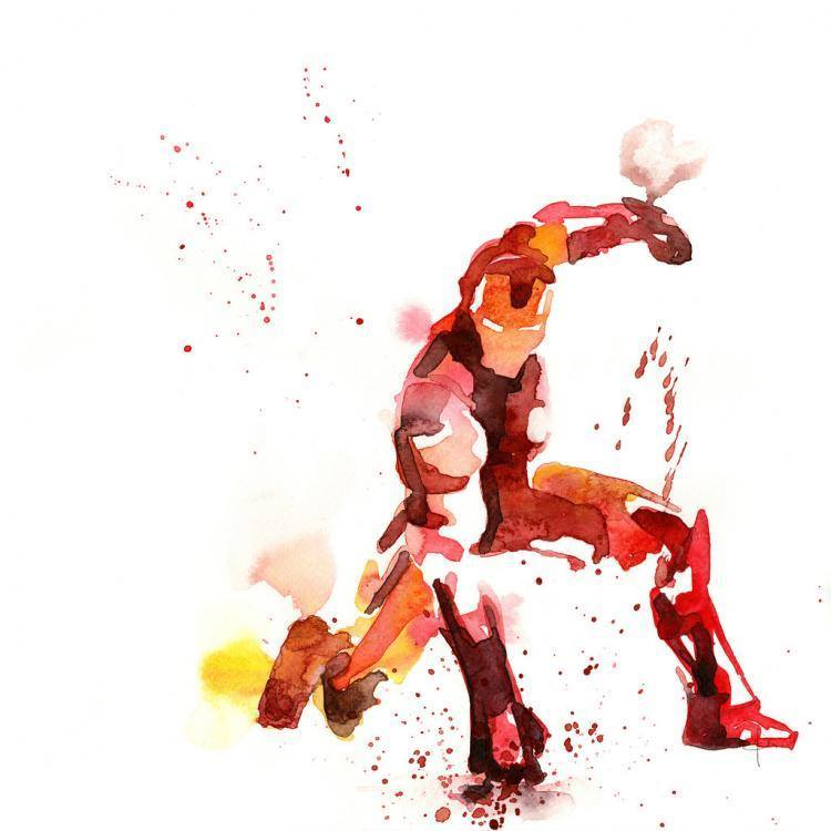 Amazing Watercolor Superheroes8