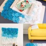 DIY Pompons Rug