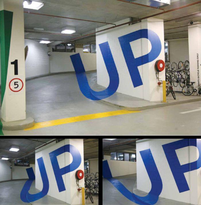 Eureka Tower Carpark Illusions2