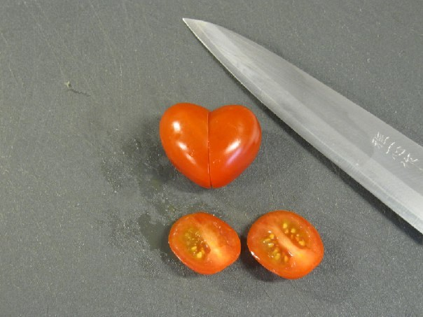 Heart Shaped Tomato for Valentine's Day3