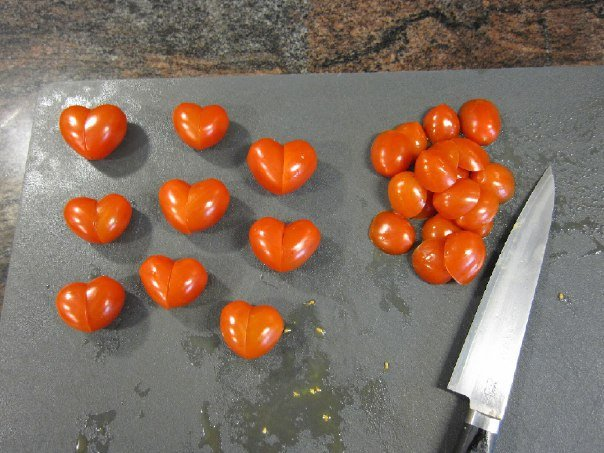 Heart Shaped Tomato for Valentine's Day4