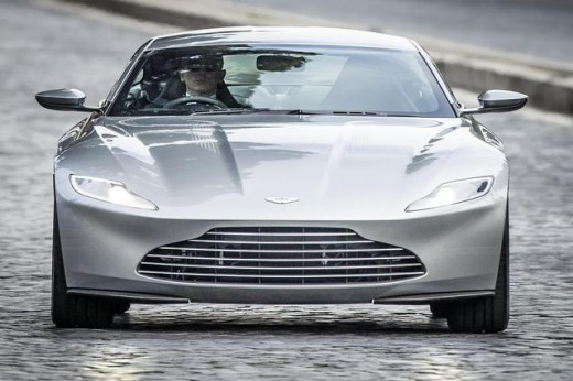 New James Bond Car, Aston Martin DB10-2