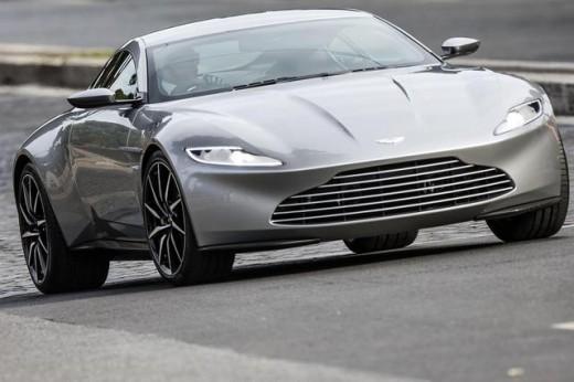 New James Bond Car, Aston Martin DB10-4