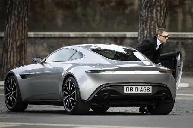 New James Bond Car, Aston Martin DB10