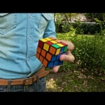 One Handed Rubik's Cube Madness