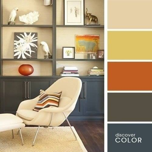The combination of colors in the interior4
