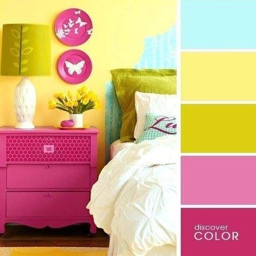 The combination of colors in the interior8