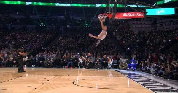 Zach LaVine Wins 2015 NBA Slam Dunk Contest