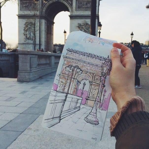beautiful surround area sketches2
