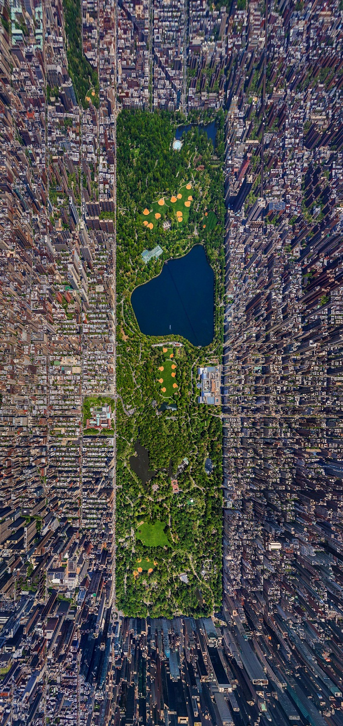 nyc from the air