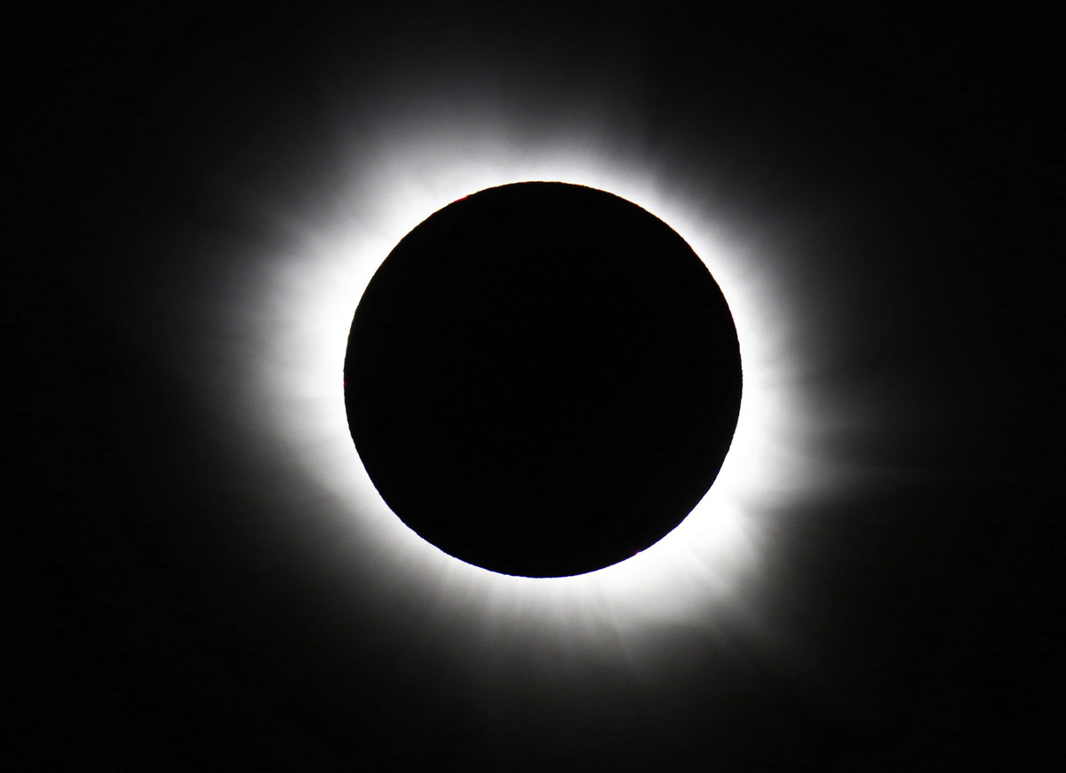 APTOPIX Norway Europe Solar Eclipse