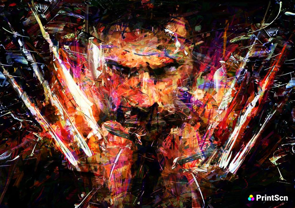 Awesome Paintings, The Wolverine