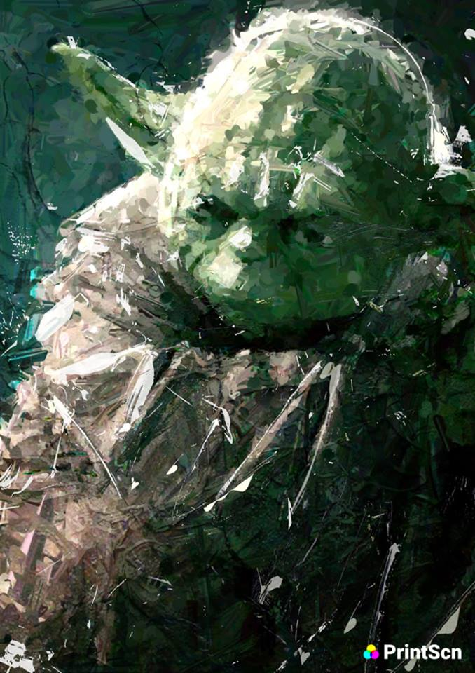 Awesome Paintings, Yoda