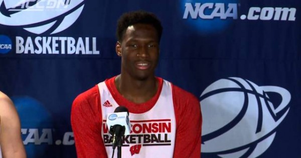 Basketball Player Has Embarrassing Moment at Press Conference