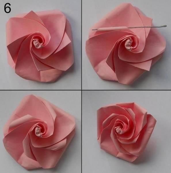 DIY Paper Flower7