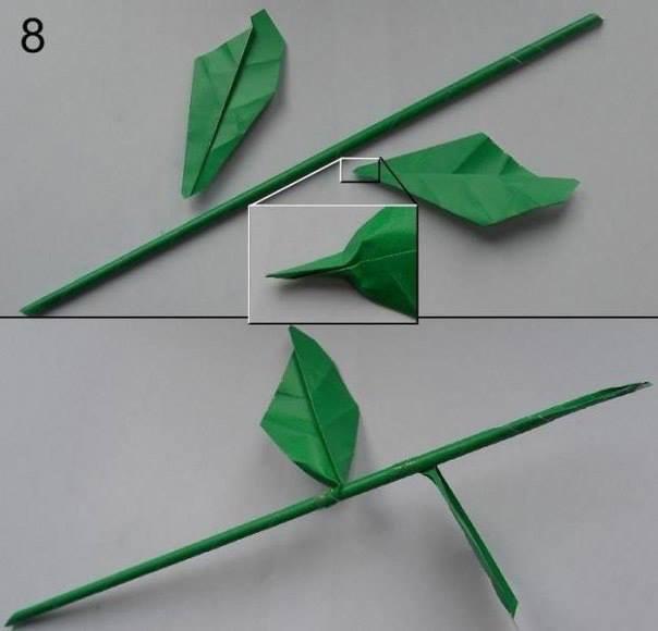 DIY Paper Flower9