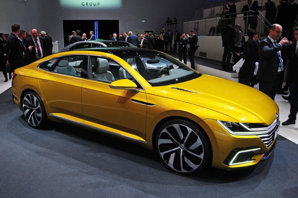 Geneva Motor Show 2015 VW sport coupe gte concept