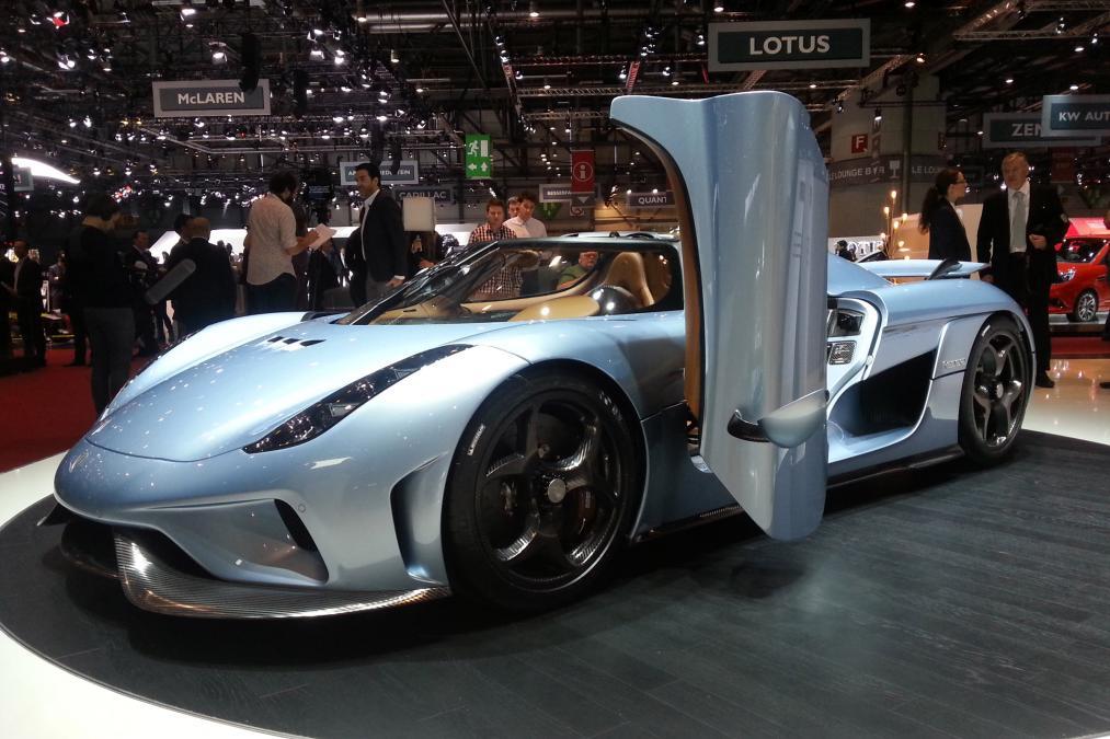 Geneva Motor Show 2015 koiengsegg regera 4