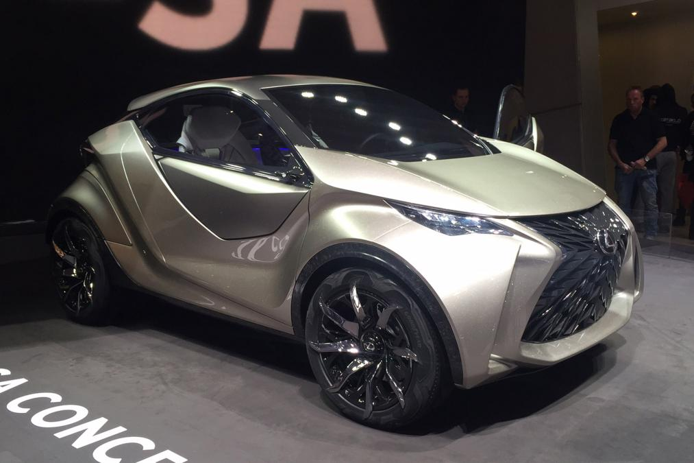 Geneva Motor Show 2015 lexus lf-sa