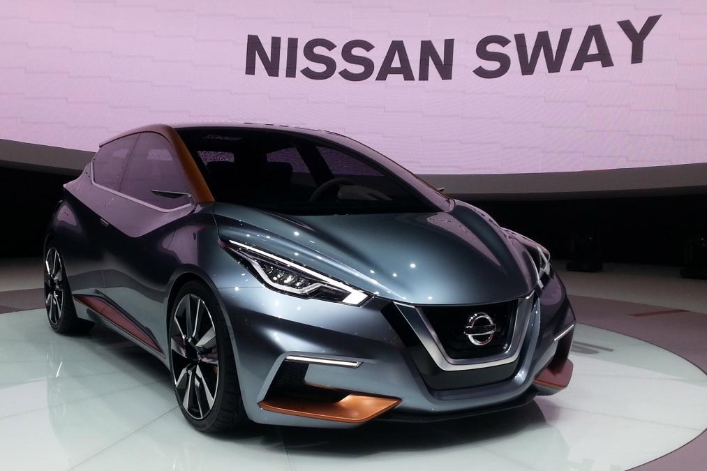 Geneva Motor Show 2015 nissan sway