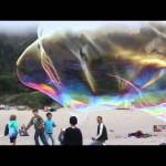 Giant Beach Bubbles