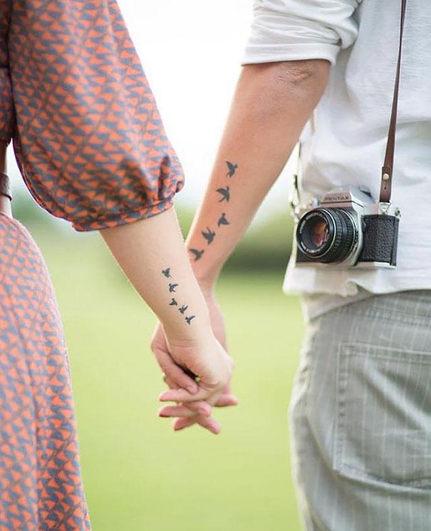 Matching Couple Tattoos3