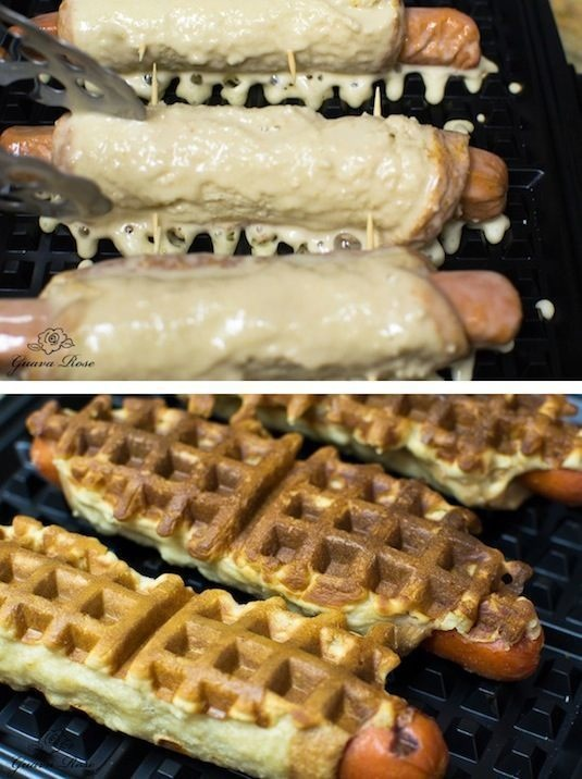 Things To Make In a Waffle Iron That Aren't Waffles3