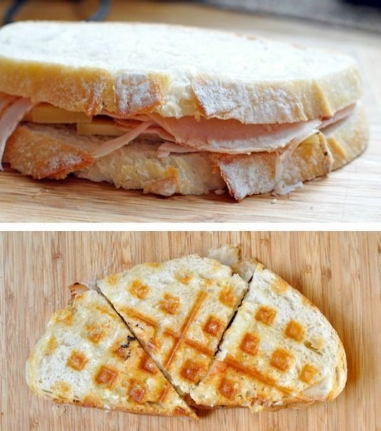Things To Make In a Waffle Iron That Aren't Waffles5