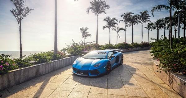 Beautiful Lamborghini Aventador