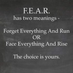 Fear, The Choice Is Yours