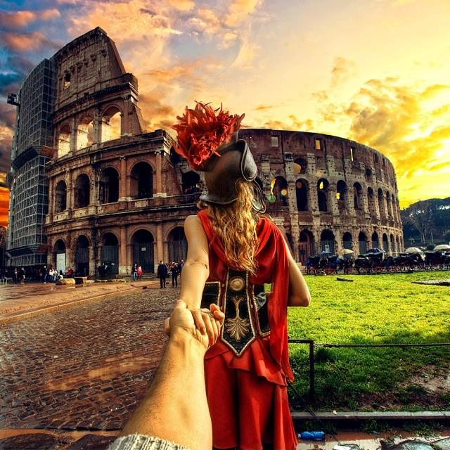 photographer Murad Osmann continues to be led around the world by his girlfriend7