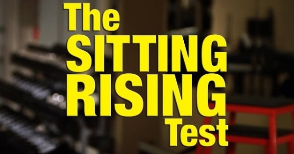 How Long Will You Live? Try The Sitting Rising Test