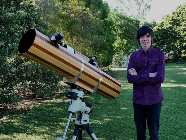 He Has Built His Own Telescopes