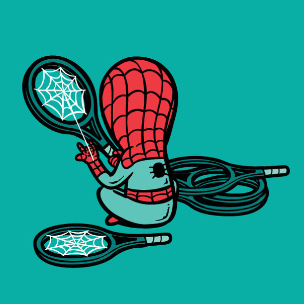 If Superheroes Had Part-Time Jobs2