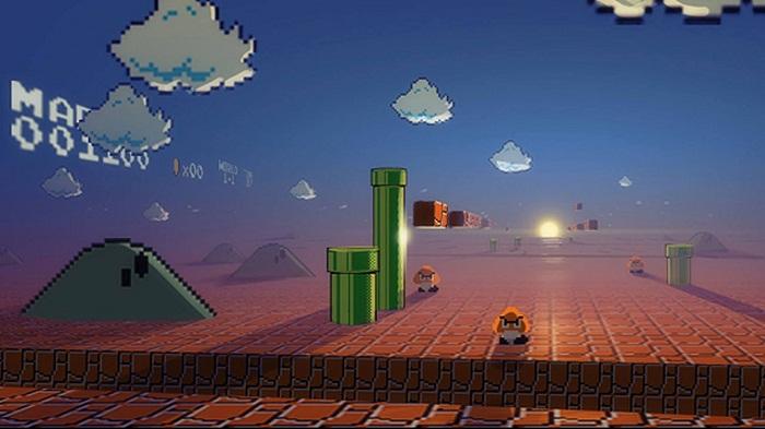 Mario's perspective