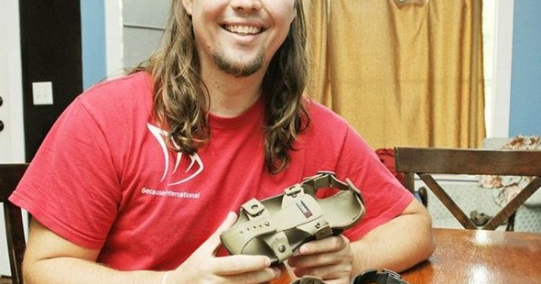 Shoes That Grow, Guy Help Millions Of Poor Children