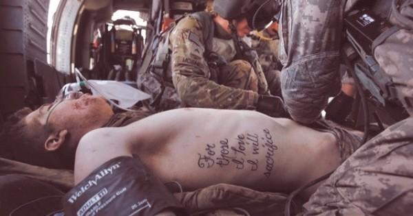 For Those I Love I Will Sacrifice