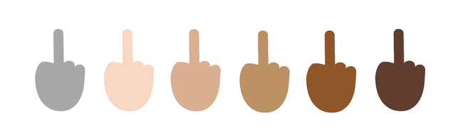 If You Ever Wanted To Give Someone The Finger (emoji), Microsoft Is About To Make That Dream Come True