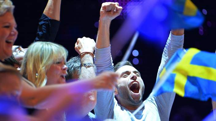 Sweden wins Eurovision Song Contest